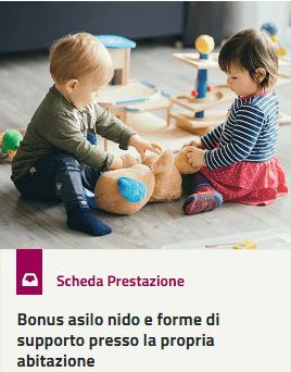 Bonus nido 2019 servizio on line e istruzioni for Bonus asilo nido 2019 requisiti