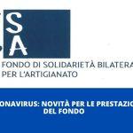 FSBA richiesta seconde nove settimane pubblicata la procedura